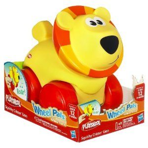 Playskool Wheel Pals Squishy Critter - Lion -- so cute for toddlers who love wheels!