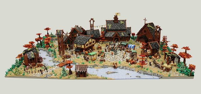 The Village of Avalon is a collaborative project between four great builders, Classical Bricks, Cole Blood, Jake Hansen, and Micah Schmidt. The medieval style village has several buildings includin…