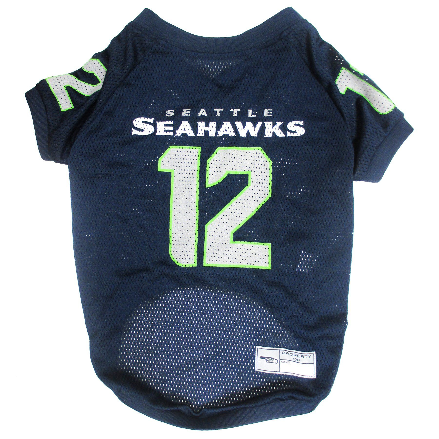 Pets First NFL Seattle Seahawks No. 12th Pet