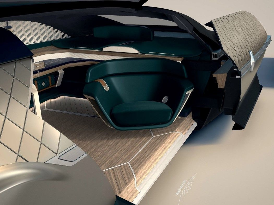 Renault Ez Ultimo Luxury Self Driving Limo In 2020 Renault Car Concept Car Design