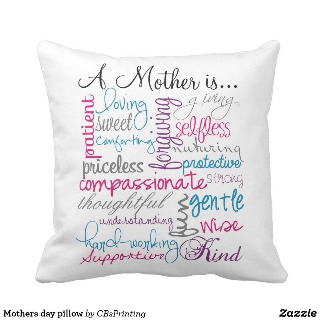 Mothers day pillow | Pillows