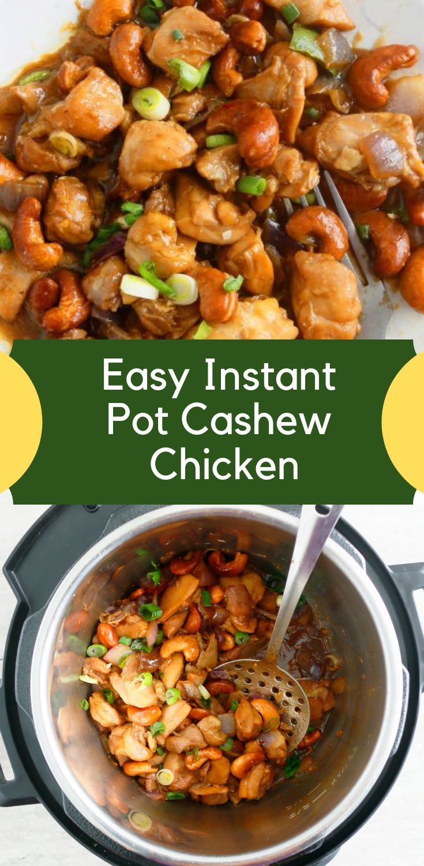 Easy instant pot cashew chicken recipe instant pot