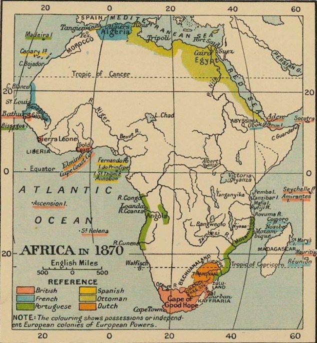 map of africa 1870 | #IDLENOMORE   Aboriginal/ FirstNations