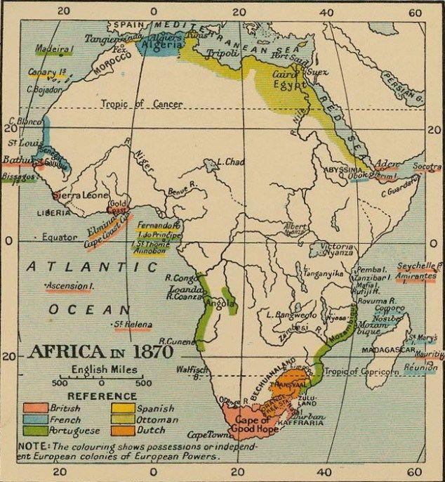map of africa 1870 | #IDLENOMORE   Aboriginal/ FirstNations