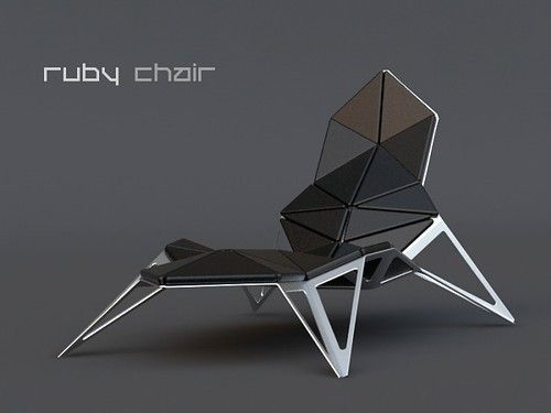 the ruby chair project by marcos madia conceptual