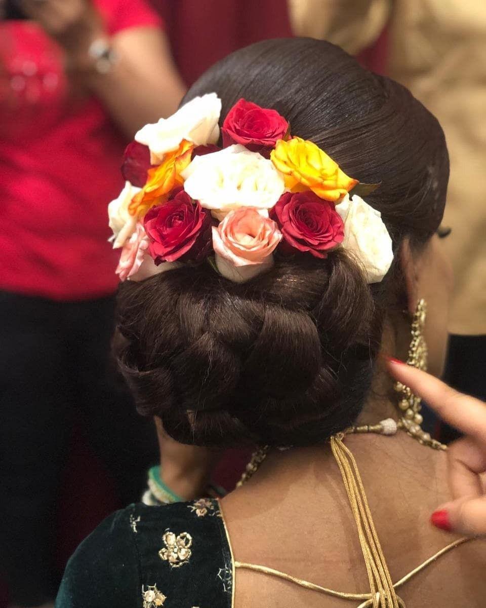 pin by parita suchdev on indian low bun hair styles | bun