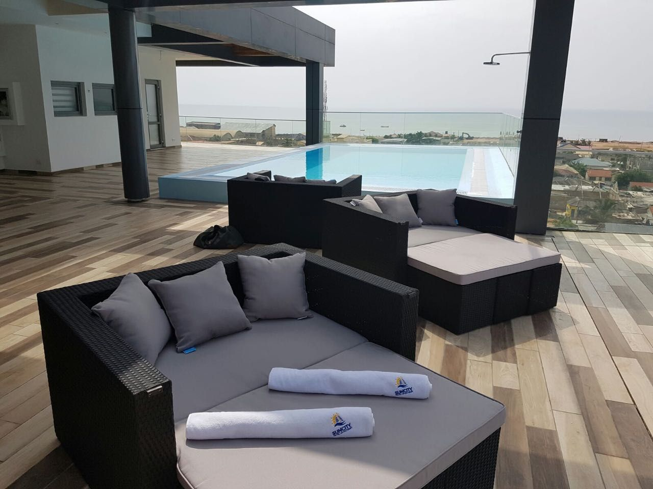 Suncity Apartment Hotel Osu Labadi Road Accra Apartment Hotel Outdoor Sectional Sofa