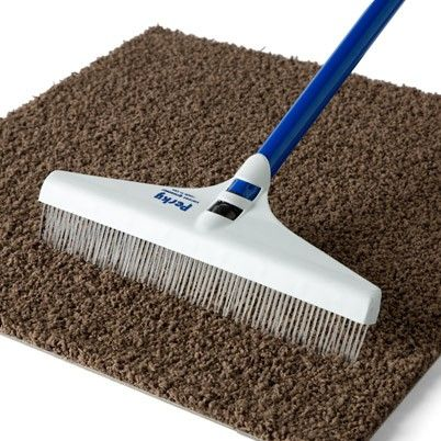 Flor Carpet Rake. Love This Idea.