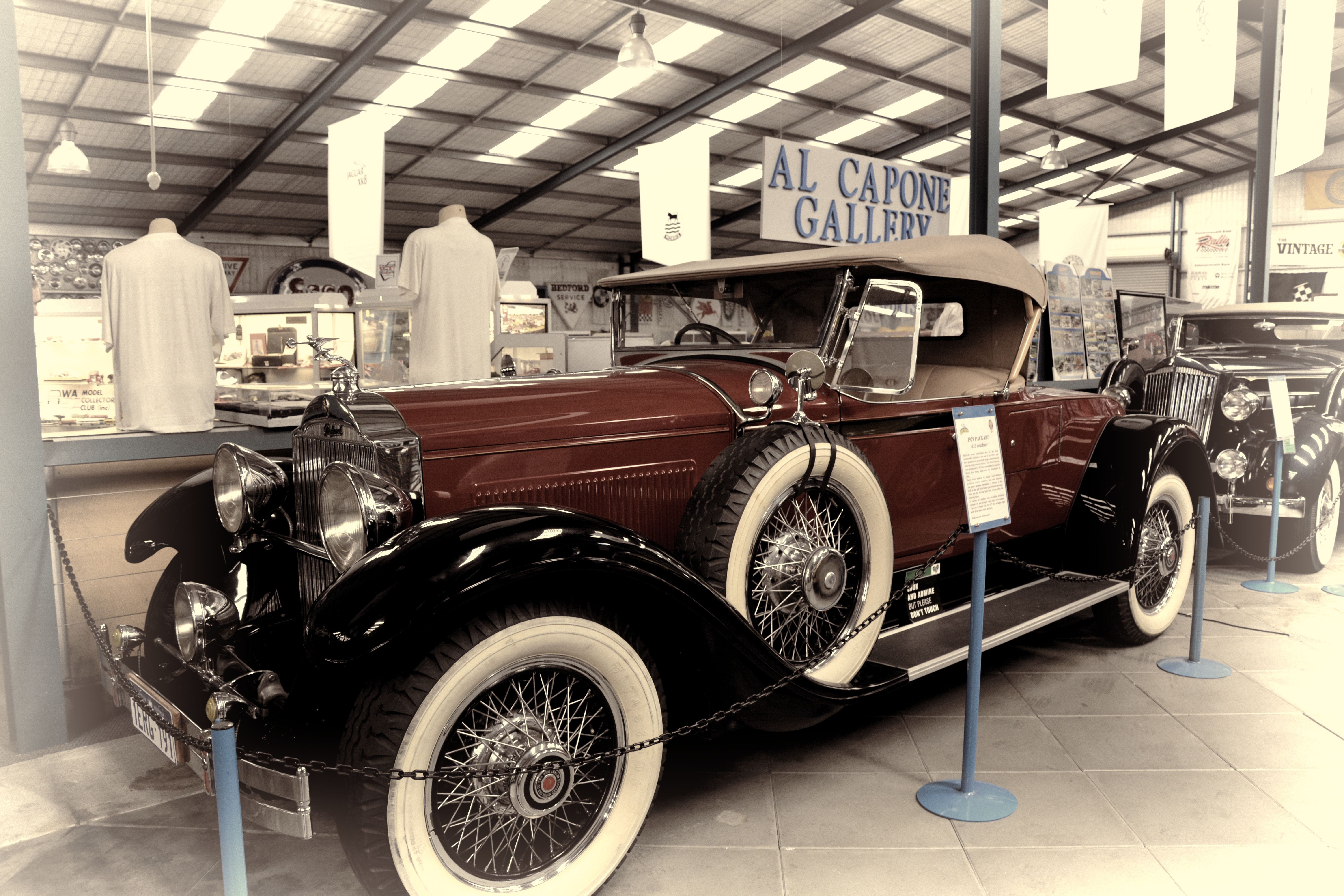 1929 Packard Roadster Whiteman Park Auto Museum Perth Western ...