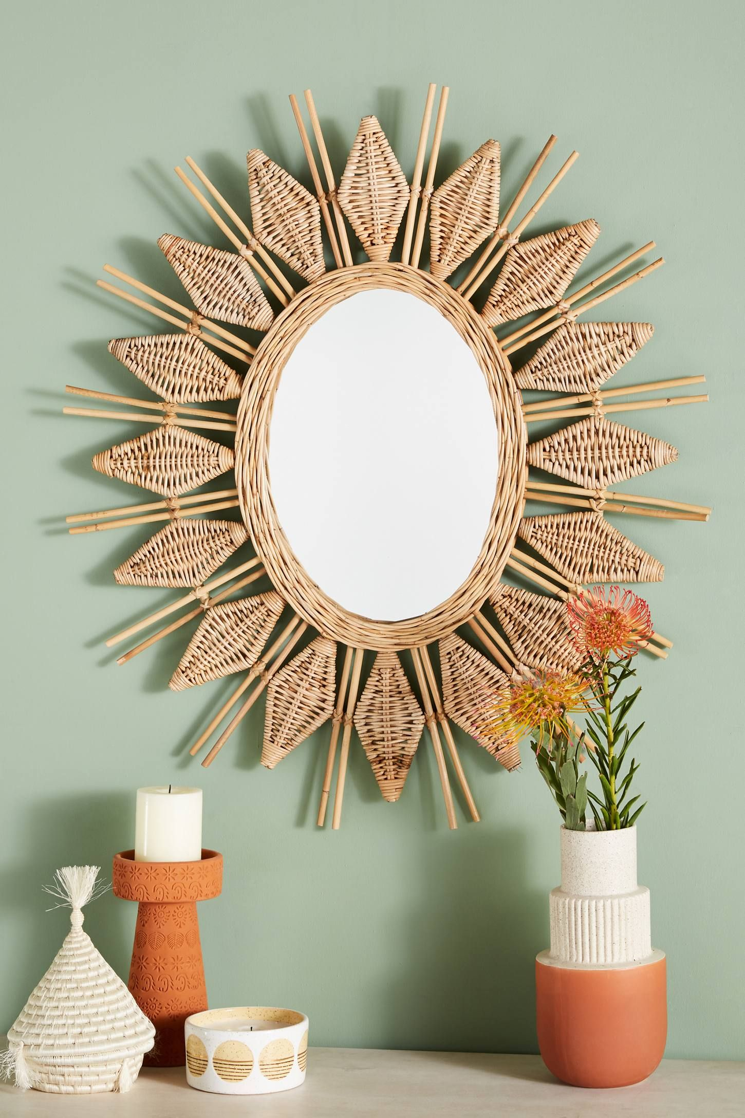 Yala Mirror With Images Home Decor Mirrors Bohemian Decor