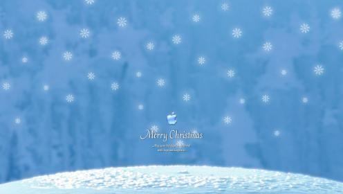 APPLE MERRY CHRISTMAS WALLPAPER - (#5525) - HD Wallpapers - [wallpapersinhq.online]