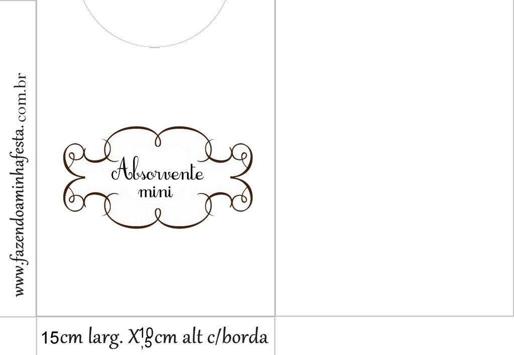 Kit Banheiro Molde : Envelope absorvente mini ref kit banheiro