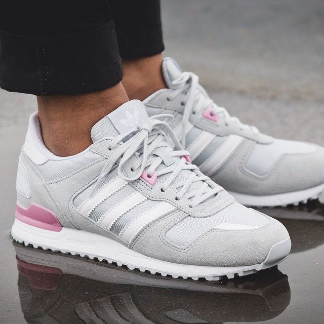 Trainers: Adidas Originals ZX 700 Damen Trainers Rot,AD