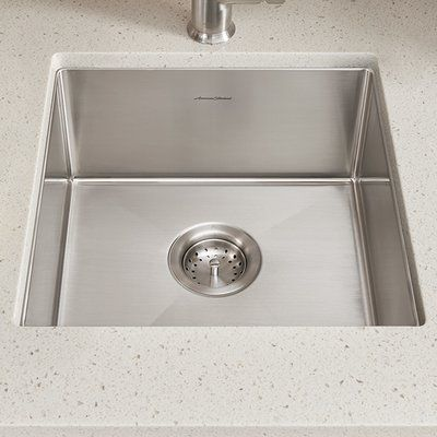american standard pekoe 17   x 17   undermount kitchen sink with drain and bottom grid american standard pekoe 17   x 17   undermount kitchen sink with      rh   pinterest com