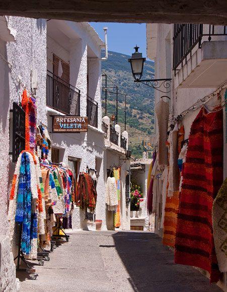 Sierra Nevada: Granada. Pampaneira. Spain