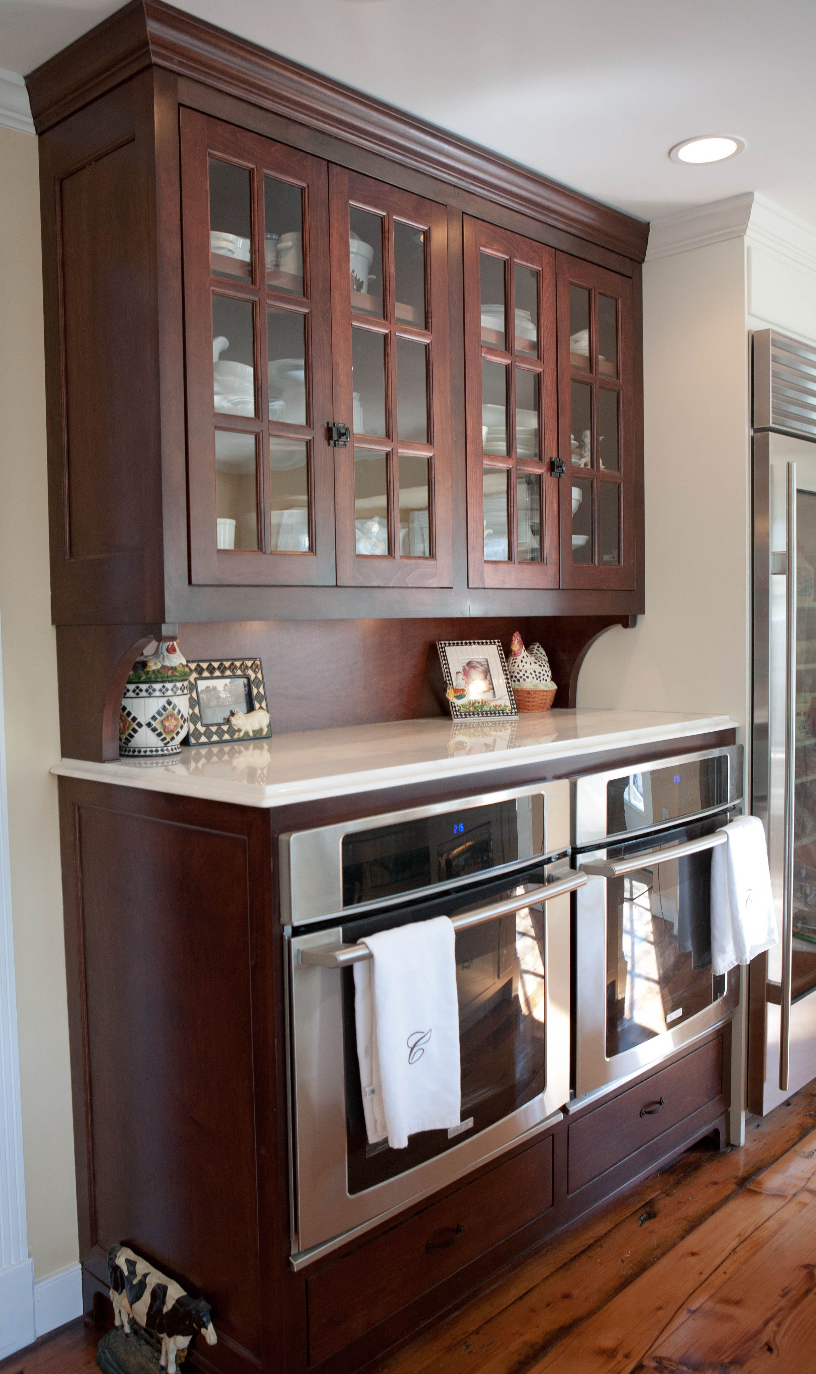 Custom Appliance Cabinet By Van Jester Woodworks With Images Kitchen Design Small Custom Kitchen Cabinets Kitchen Remodel