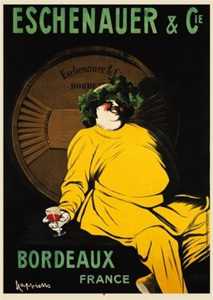 vin - Eschenauer & Cie - Bordeaux - 1907 - (Leonetto Cappiello) -