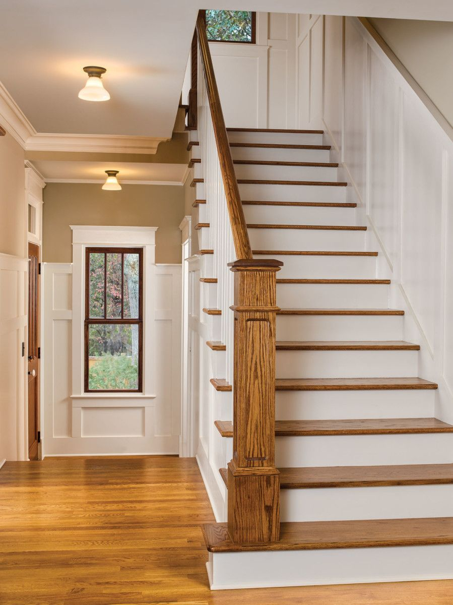 Moving the non code compliant stair created better circulation in house also rh pinterest