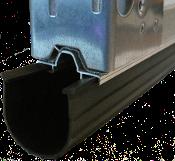 4 Inch Black 1 4 Inch T Style Heavy Duty Rubber Garage Door Seal Garage Door Seal Door Seals Garage Doors