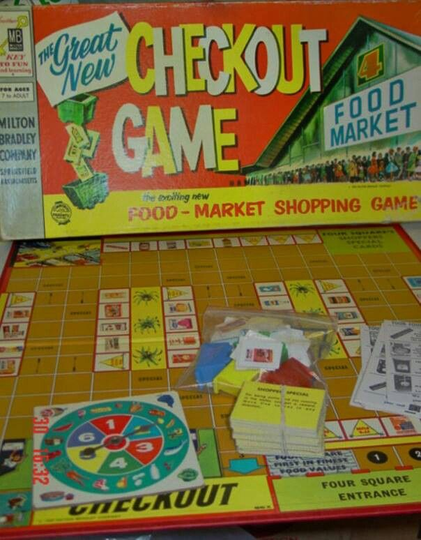 Vintage Board Game Shopping Games Vintage Board Games Classic Board Games