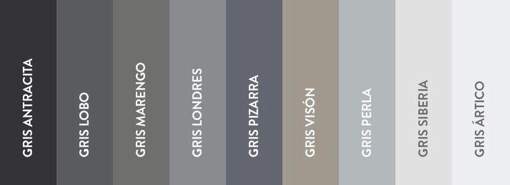 Pintura gris comex buscar con google comex pinterest - Gama de colores grises para paredes ...