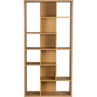 Tall Open Bookcase Oak Effect At Argos Co Uk Your Online