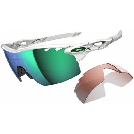 7c79587370dd44 Oakley Radarlock XL Sunglasses feature a 19mm nosebridge height that  provides a larger field of view so you don t have to keep lifting your head  to see ...