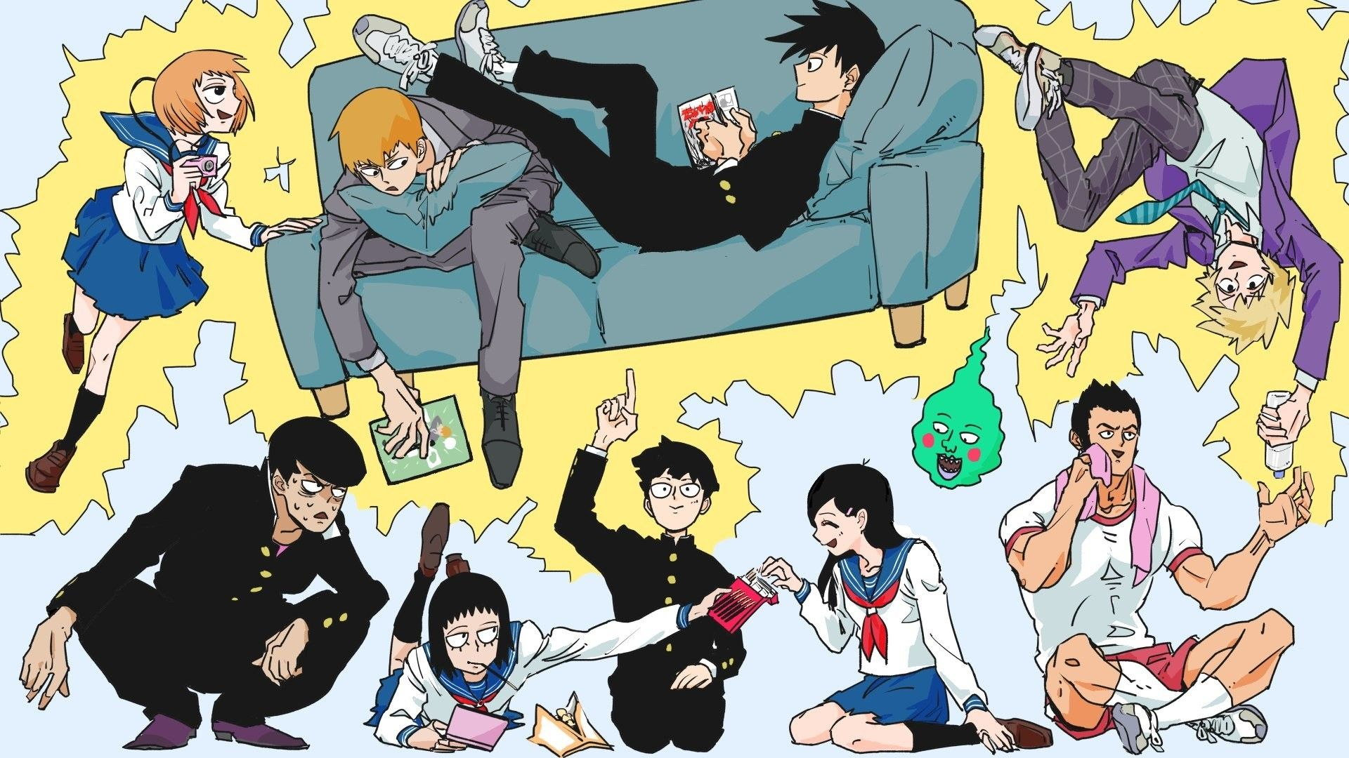 Pin By Teamato On Cool Anime Dudes Mob Psycho 100 Wallpaper Mob Psycho 100 Mob Psycho