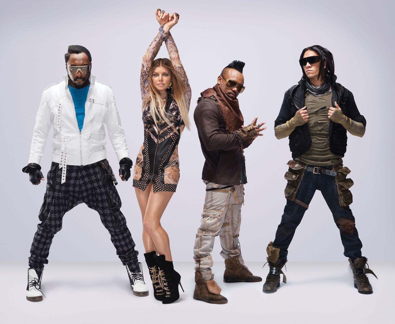 The Black Eyed Peas Black Eyed Peas Eye Black Fergie