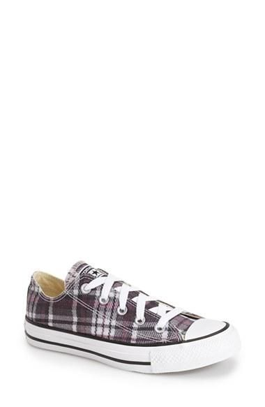68748cf15115 Women s Converse Chuck Taylor All Star Plaid Low Top Sneaker