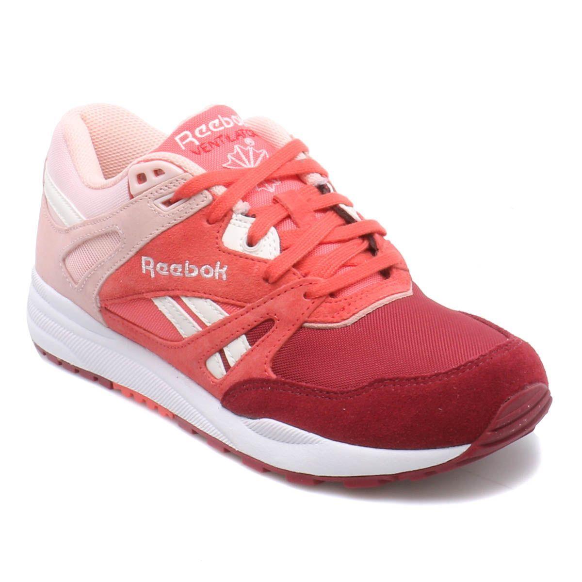 Bordo Kurusu Ayakkabılar Ventilator Reebok Kadın Sneaker Gül Tüm OiXPkZu
