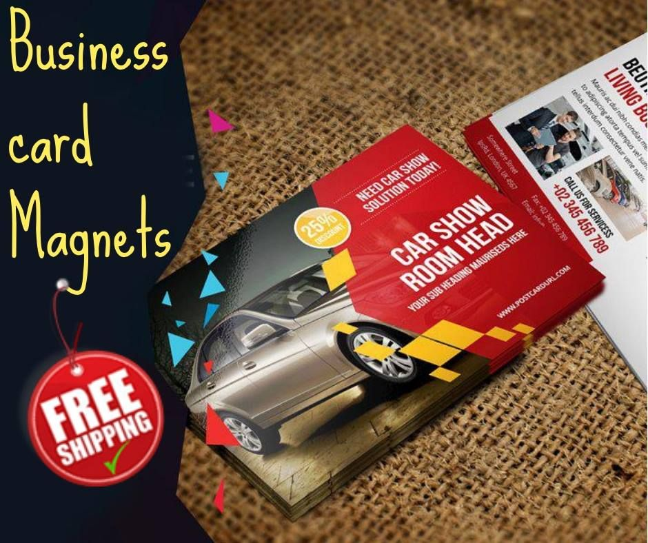 Custom Business Card Magnets Custom Business Cards Magnetic Business Cards Business Cards