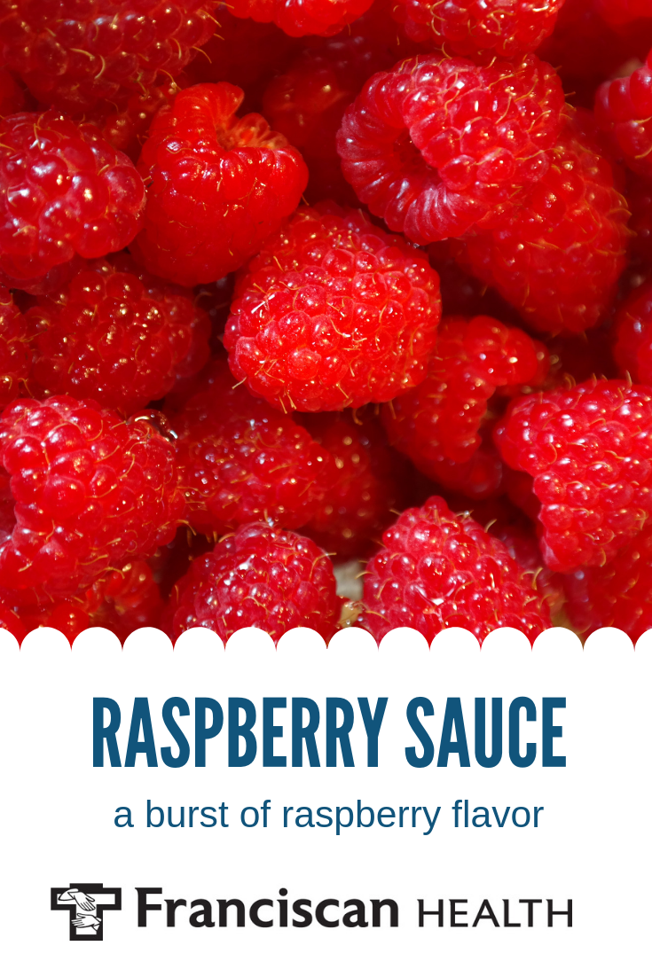 This recipe for seedless raspberry sauce takes out the