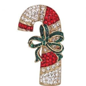 Candy Cane Confection Pin