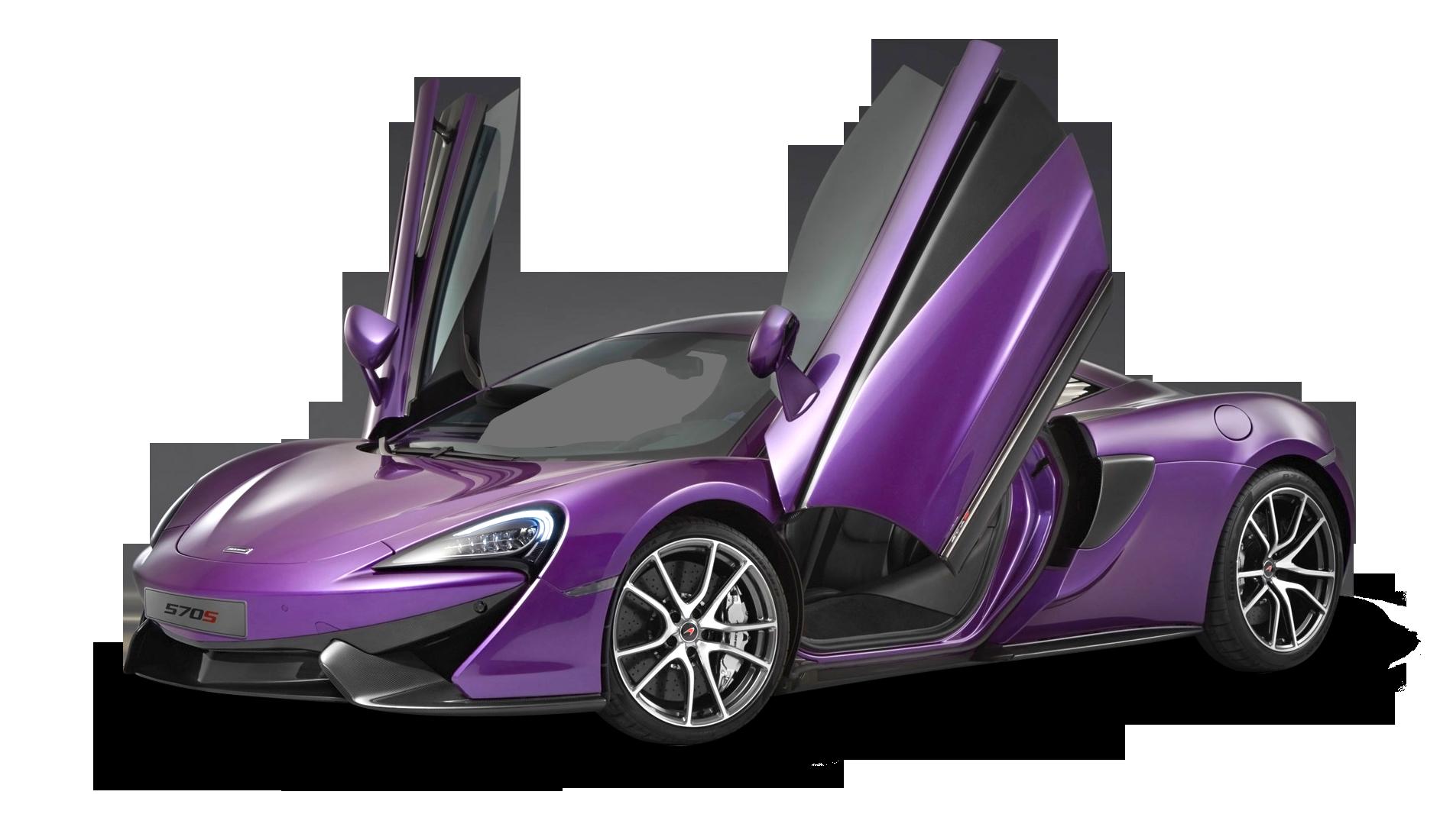 Violet Mclaren 570s Car Png Image Mclaren 570s Car Mclaren