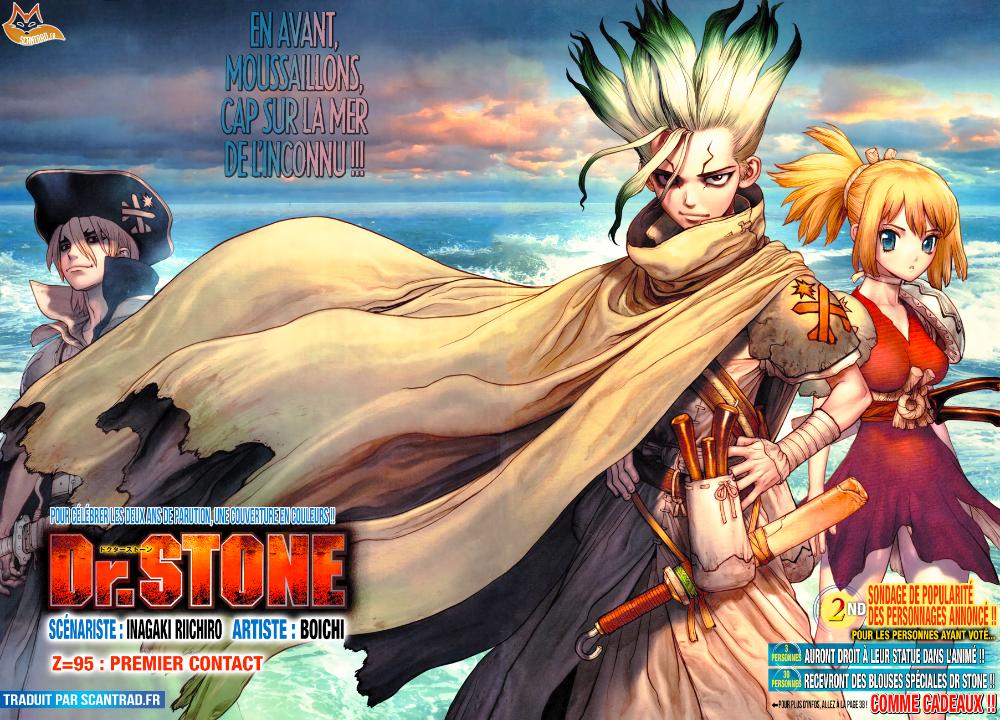 Scan Dr. Stone 95 VF - Scan-FR | Personnages de jeu vidéo, Fond d'écran anime, Dessin ligne