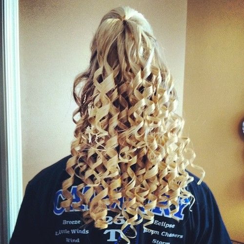 perfect cheer hair cheerleading