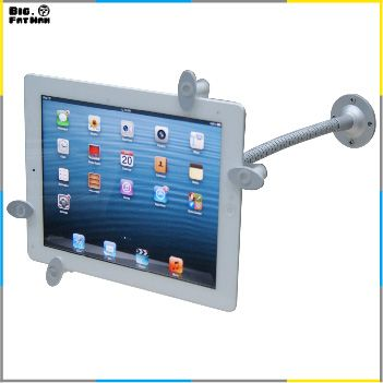 Universal Tablet Pc 360 Wall Mount Desktop Counter Lock Holder Stand For Ipad 2 3 4 Air Samsung Galaxy Tab 1 2 3 4 9 10 Ipad Stand Tablet Tablet Accessories