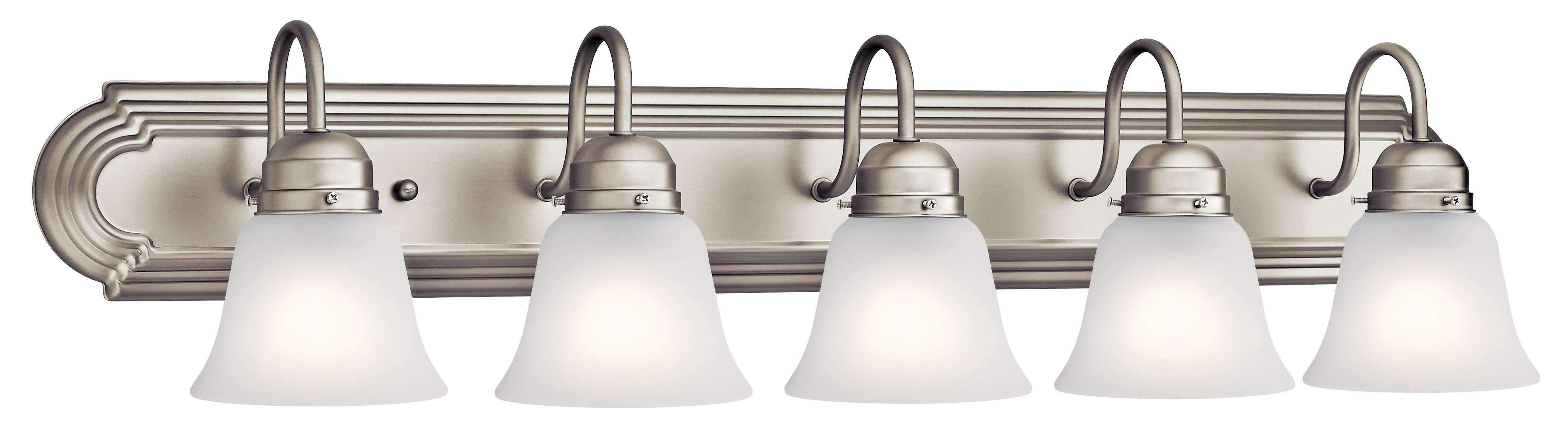 Photo of Bath 5 Light – Brushed Nickel