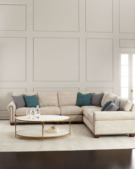 Jenkins 4-Piece Sectional Sofa | Living room | Sofa, Living ...
