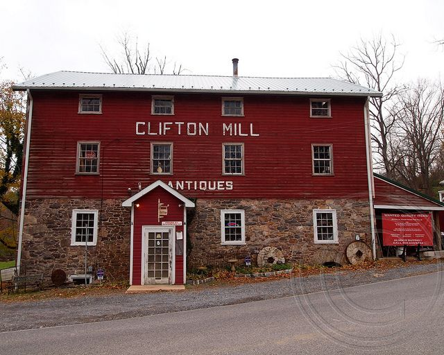 Clifton Mill Antiques Shoppes Kennett Square