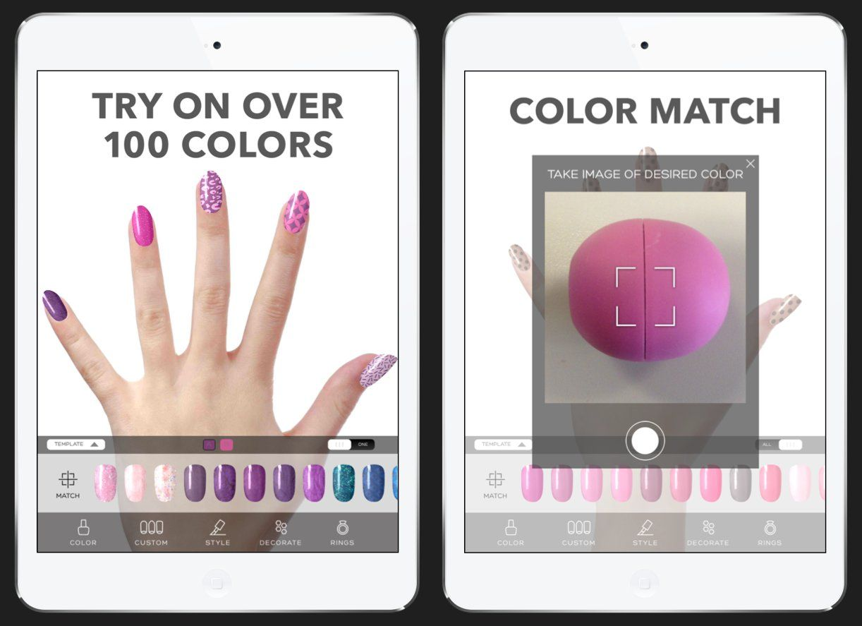 TNS test out 5 of the best beauty apps! Whether choosing your polish ...