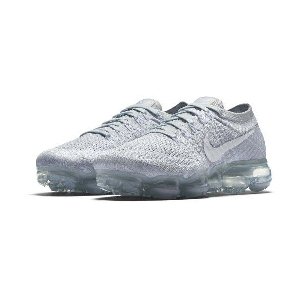 Women's Nike Air Vapormax Flyknit Running Shoe ($190) ❤ liked on Polyvore  featuring shoes