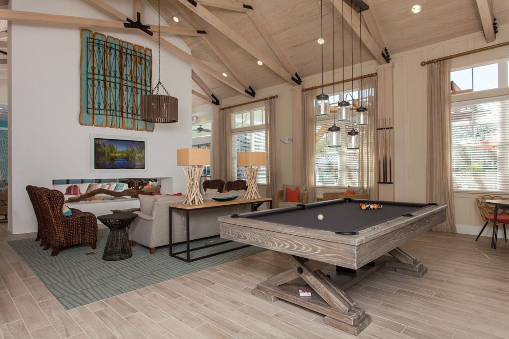 Billiards Broadstone Seaside Crosby Design Group Charleston Sc