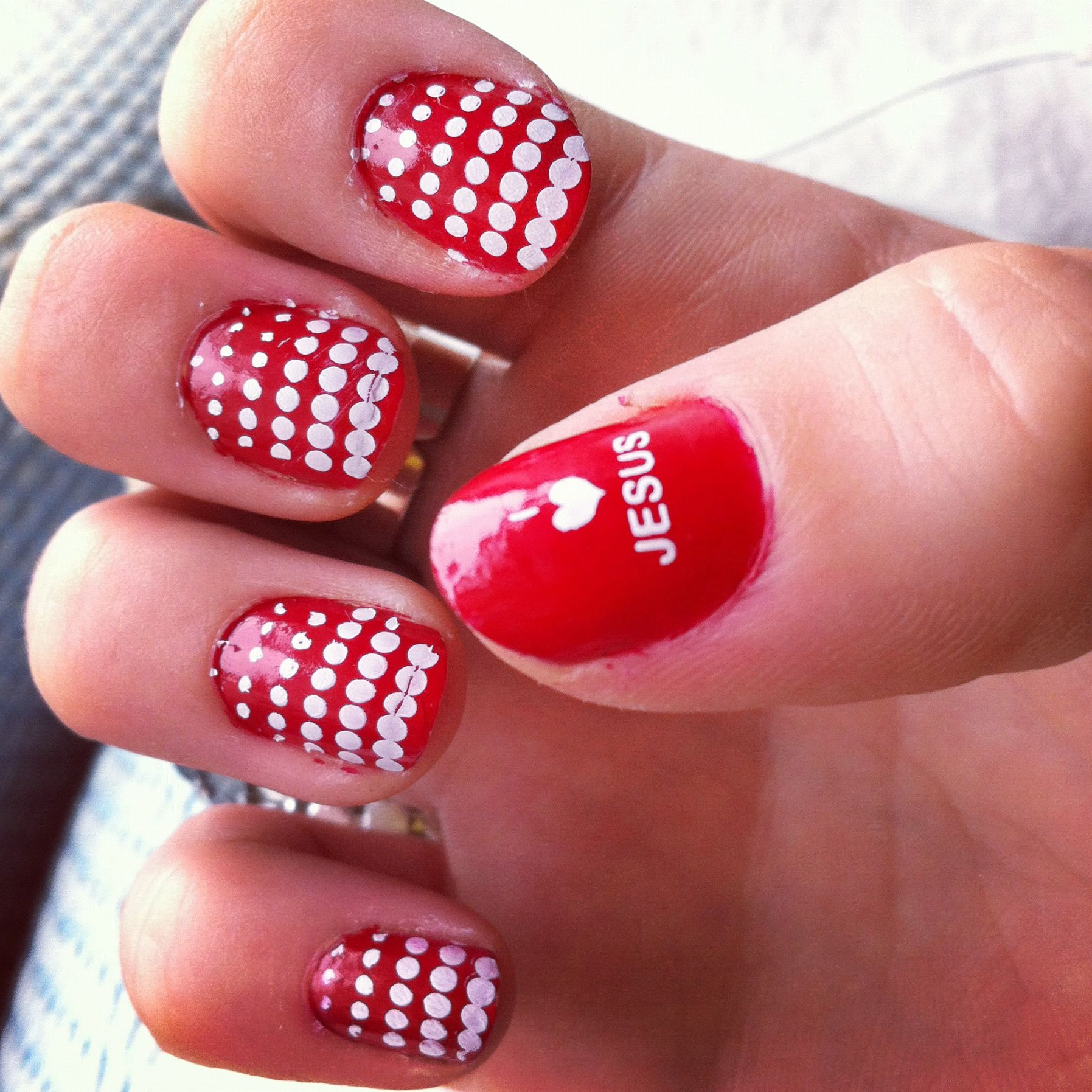 jesus nails   Fingernail and Toenail Designs   Pinterest
