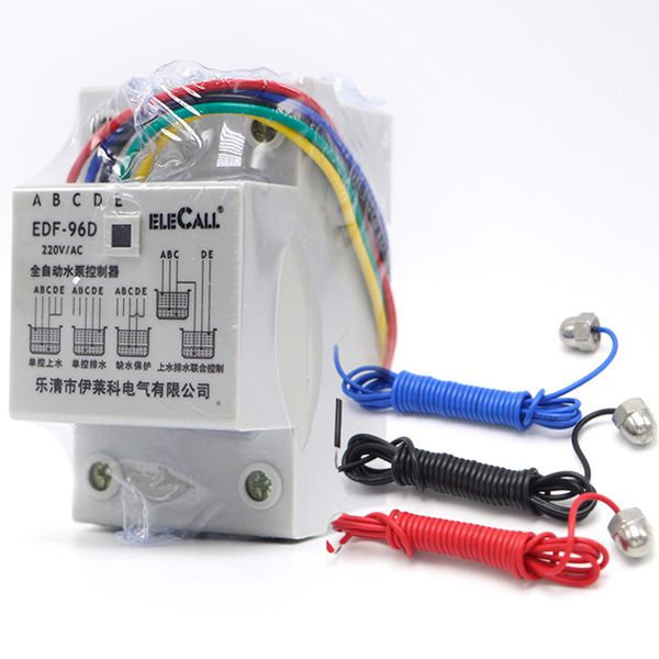 DF96D AC220V 5A Din Rail Mount Float Switch Auto Water Level