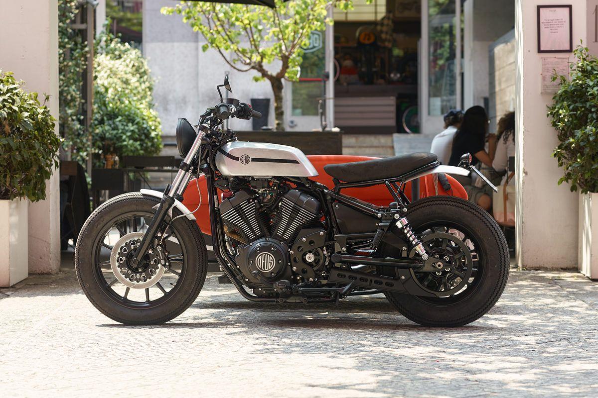 Side Order: Deus x Yamaha XV950 'D-Side' | Bike EXIF