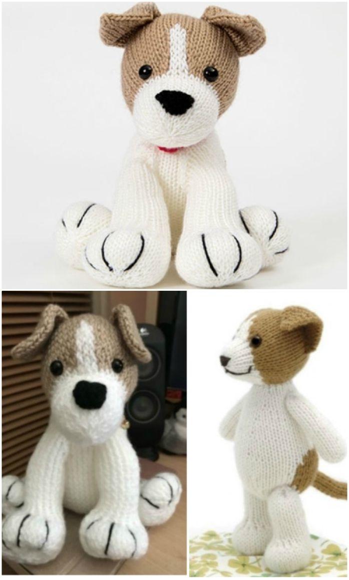 Free Dog Knitting Patterns | The WHOot #knittingpatternsfree