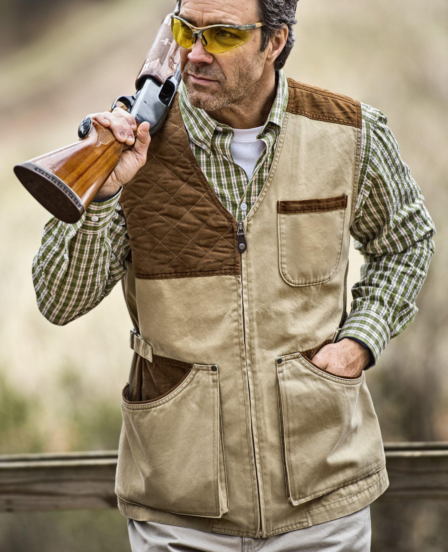 Men's Sporting Clays Vest Remington 1816 Trap Skeet