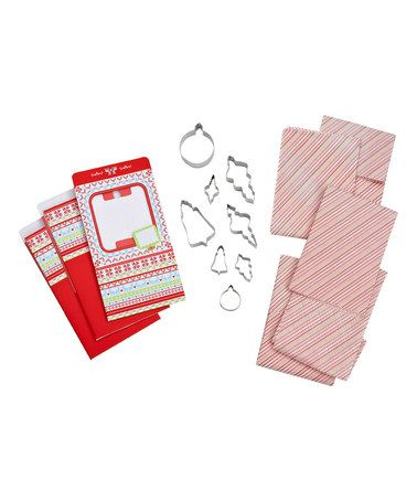 This Holiday Cookie Box Set is perfect! #zulilyfinds